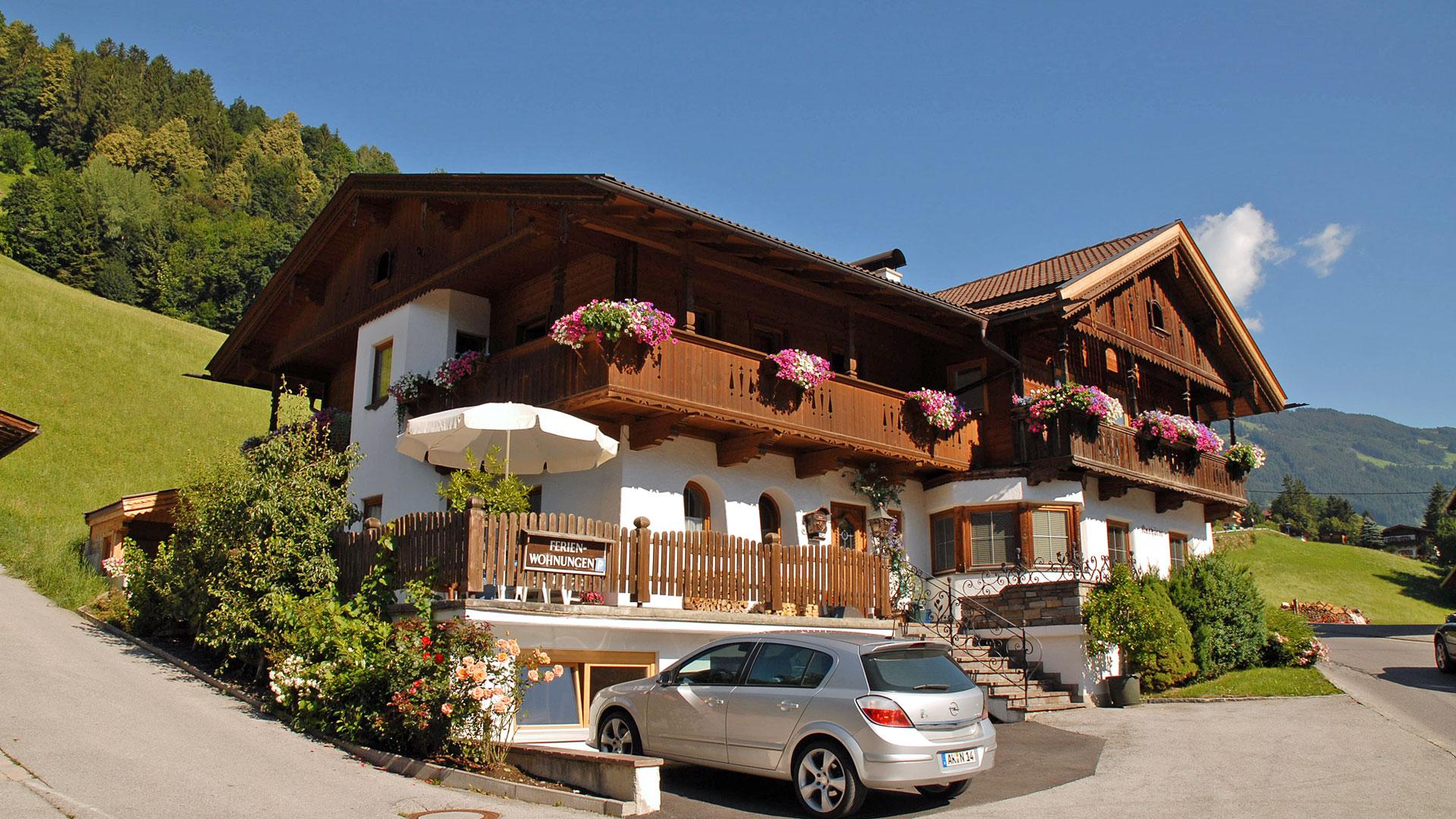 Ferienhaus Kashütte Hippach im Zillertal